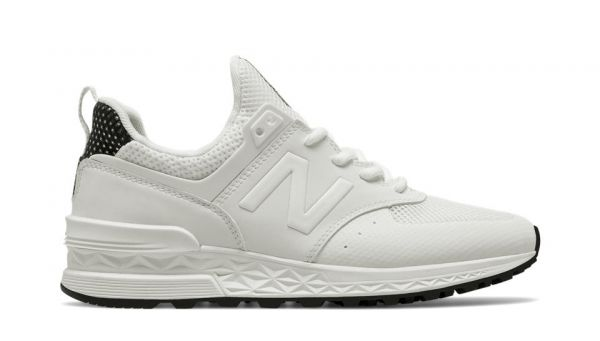 new balance damen 574 laufschuhe on feet